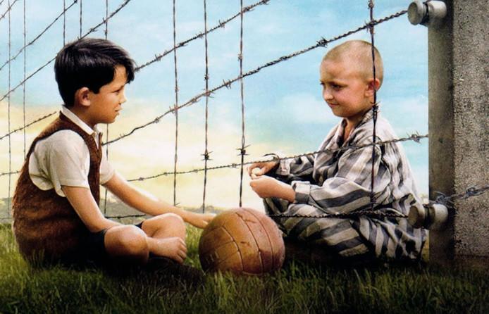 Scène uit de verfilming van Boyne's boek The Boy in the Striped Pyjamas uit 2008.