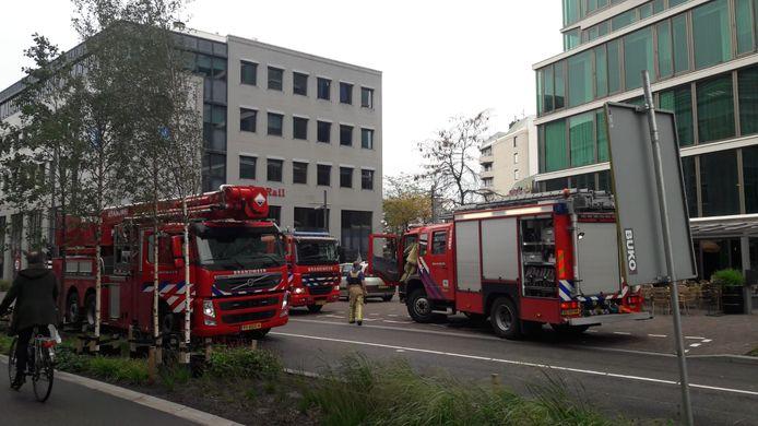 Keukenbrand in Groene Toren snel geblust.