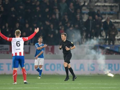 TOP Oss legt drie fans stadionverbod op na gooien vuurwerk tegen FC Den Bosch