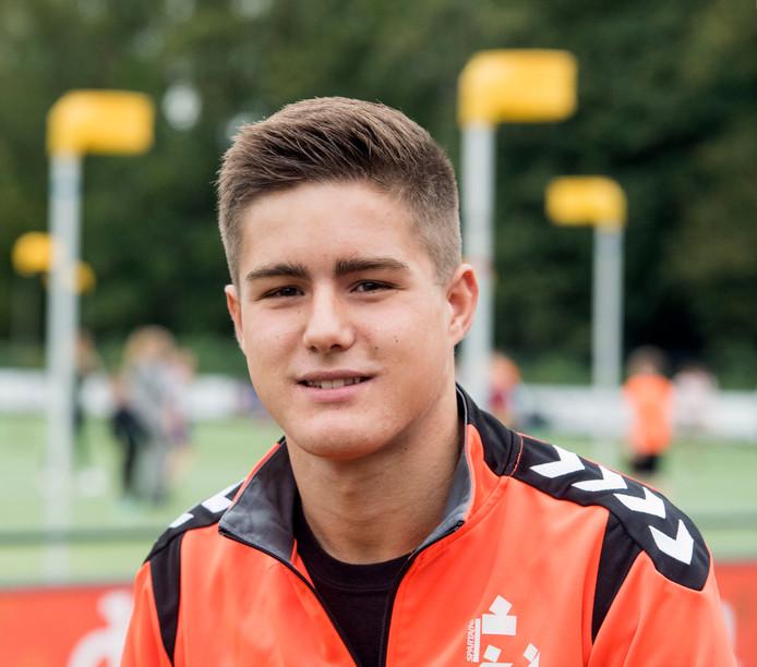 Leon Woudenberg wil in zijn eerste volledige seizoen bij Sparta graag kampioen worden in de zaal.