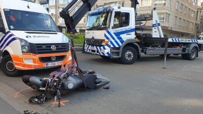 Motorrijder komt in aanrijding met Lijnbus