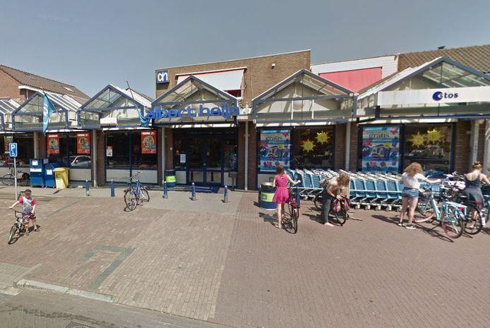 De winkels van Albert Heijn, Gall & Gall en Etos in Berghem.
