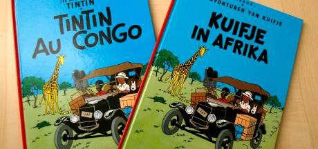 """Casterman favorable à un encart contextualisant """"Tintin au Congo"""""""