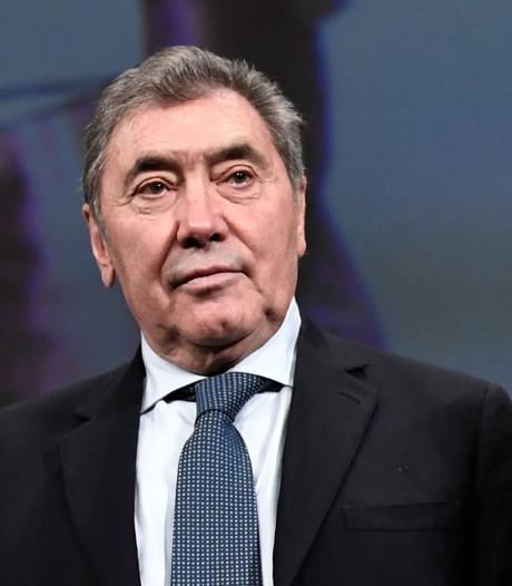 Les nouvelles rassurantes d'Eddy Merckx après sa chute à vélo