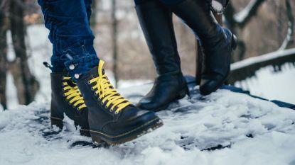 Het gaat weer sneeuwen: zo bescherm je schoenen en verwijder je zoutkringen