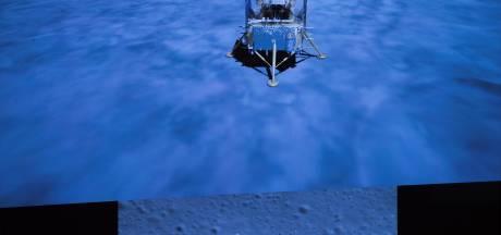 Une sonde spatiale chinoise transportant des échantillons lunaires revenue sur Terre
