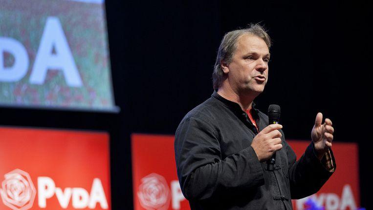 Volgens Hans Spekman (PvdA) is nivelleren een feest. Beeld ANP