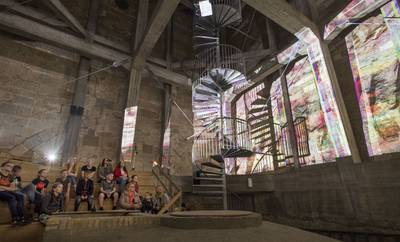Leerlingen geven historie van Oldenzaal weer in beats en lichtprojecties