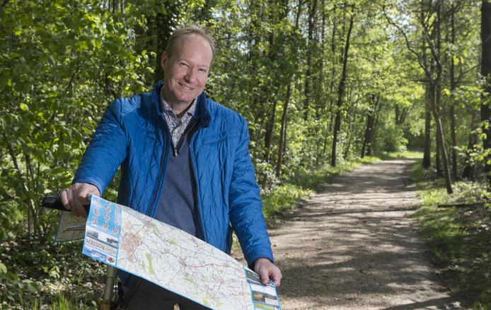 Geert-Frank de Vries van Arthuur Ontdekfietsroutes