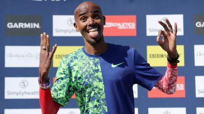 'Sir' Mo Farah snelt in persoonlijk record naar nieuwe zege in Great North Run, Abdi is vijfde