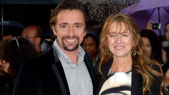 Richard Hammond en zijn echtgenote Amanda. Foto uit 2015.