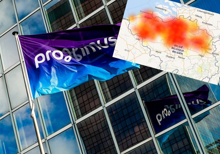 De storingen bij Proximus hadden een grote impact.