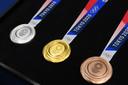 De olympische medailles van Tokio 2020.