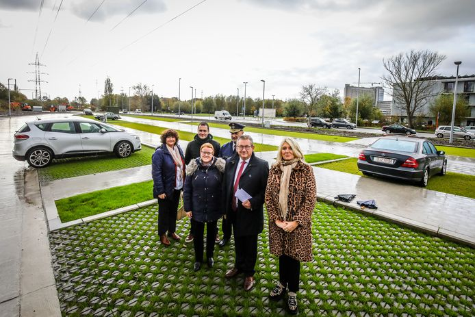 Brugge randparking waggelwater geopend