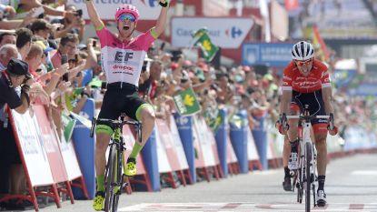 Vluchter Clarke haalt zijn gram in Vuelta, Molard snoept Kwiatkowski leiderstrui af