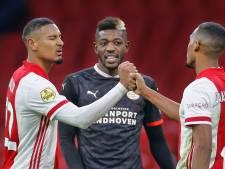 PSV en Ajax zijn op het hakblok aardig voor elkaar
