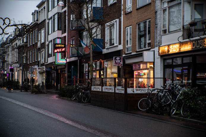 Beeld van de Bloemerstraat in Nijmegen.