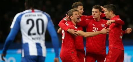Bayern heeft Zirkzee niet nodig om Hertha met ruime cijfers te verslaan