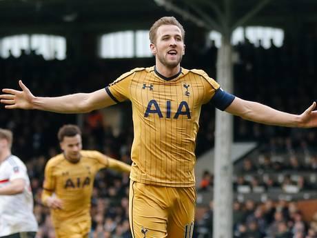 Kane schiet Spurs met hattrick naar kwartfinale FA Cup