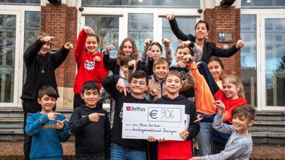 Fluofuif brengt 906 euro op voor kinderen met PID