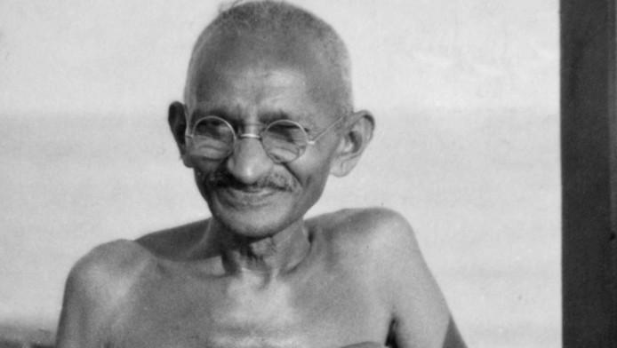 Mahatma Gandhi in december 1931.