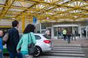 De ingang van ziekenhuis Rijnstate in Arnhem-Noord.
