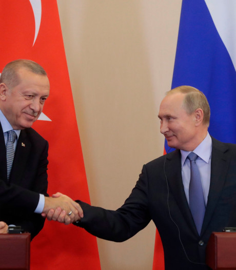 Rusland en Turkije gaan terreurvrije zone in Syrië samen bewaken