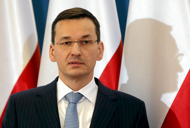 De Poolse vicepremier Mateusz Morawiecki. Beeld reuters