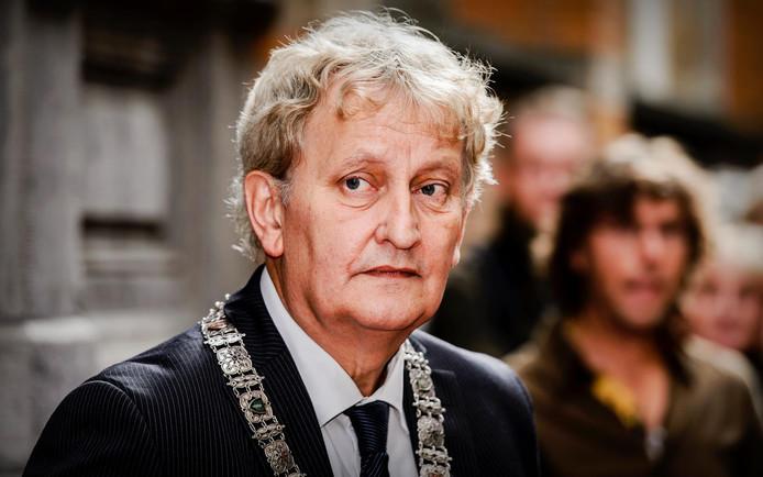Eberhard van der Laan, burgemeester van Amsterdam, op archiefbeeld.