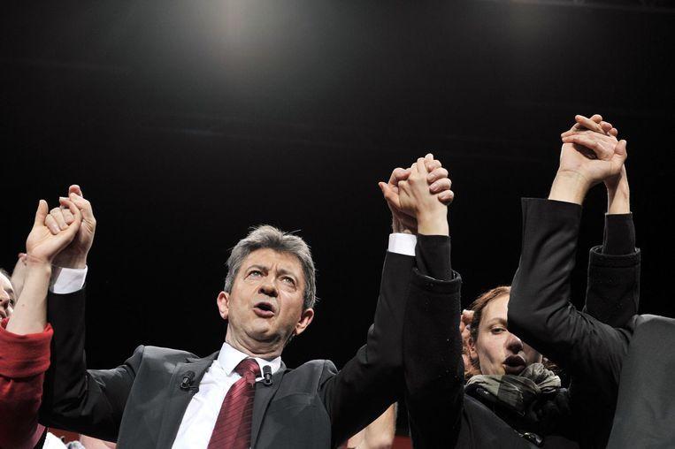 Jean-Luc Mélenchon. Beeld AFP
