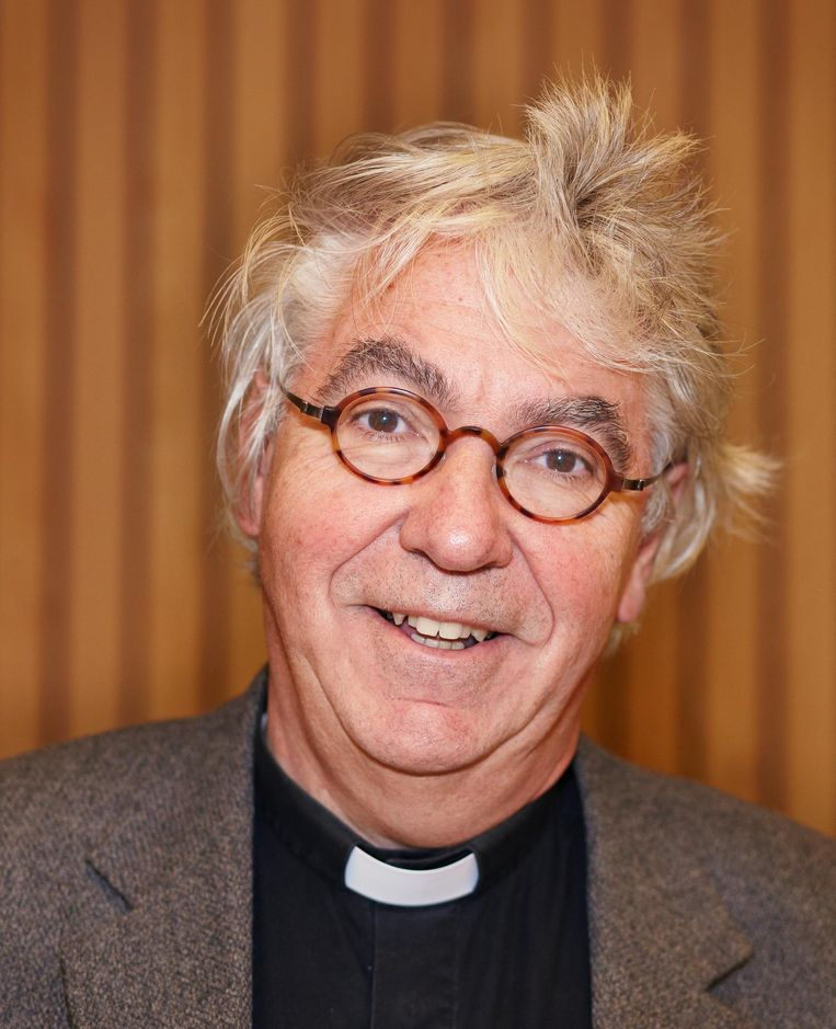 Predikant Rob Visser Beeld Daniel Cohen