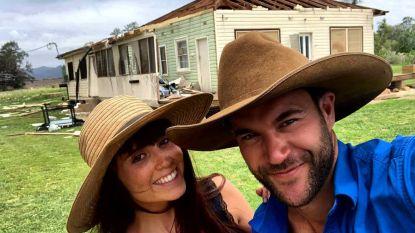 Romantiek én drama... 'Boer Zkt. Vrouw'-koppel Jan en Romina spenderen hun eerste kerst samen