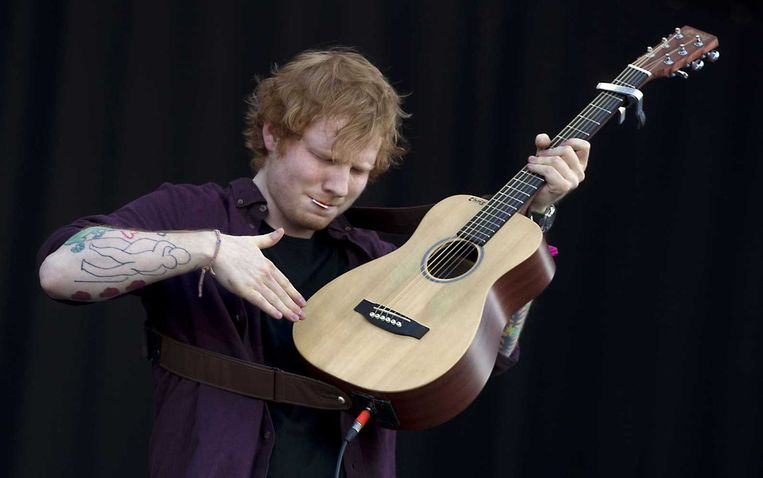 Ed Sheeran Beeld anp