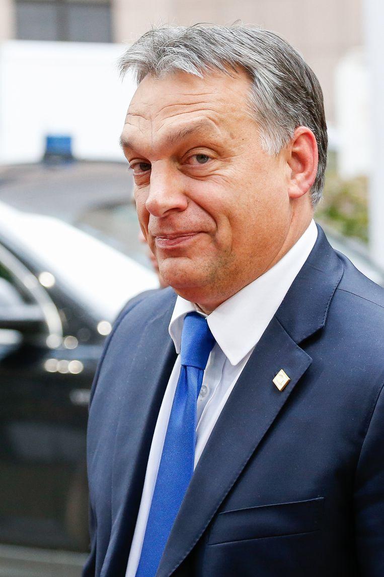 Premier Viktor Orban Beeld belga