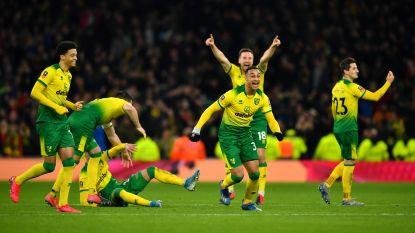 FA Cup: Norwich verrast Tottenham, ook Man City en Leicester stoten door