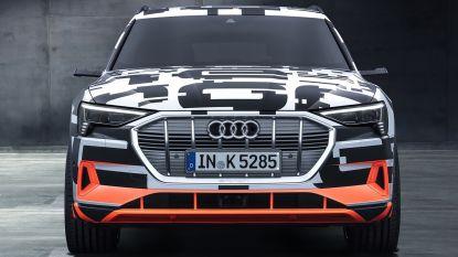 Brusselse elektrische Audi zal 82.400 euro kosten