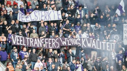 """""""Devroe, rot op"""" en """"Veel transfers, weinig kwaliteit"""": Anderlecht-fans hebben duidelijke boodschap voor bestuur"""