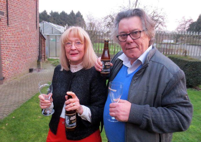 Archiefbeeld: Monika Van Paemel en Johan Verminnen werden in januari 2018 benoemd als meter en peter van het Baron Cyriel Buyssebier.