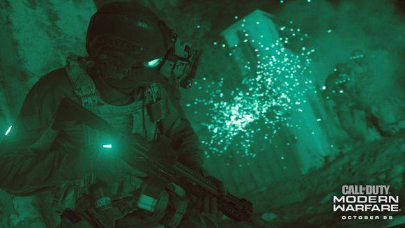 Screenshot uit Call of Duty: Modern Warfare