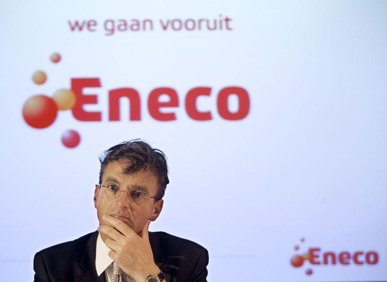 Bestuursvoorzitter Jeroen de Haas stapt op 1 september op bij Eneco. Beeld anp