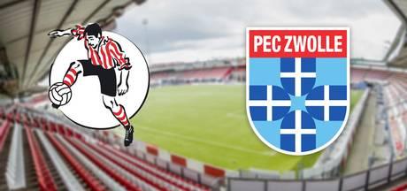 Sparta wil eerherstel tegen PEC Zwolle na dramastart