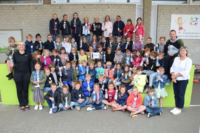 De Sint-Lodewijksschool is de sportiefste van Oostende
