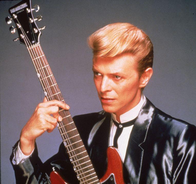David Bowie als mainstream popster ten tijde van 'Let's Dance'. Beeld