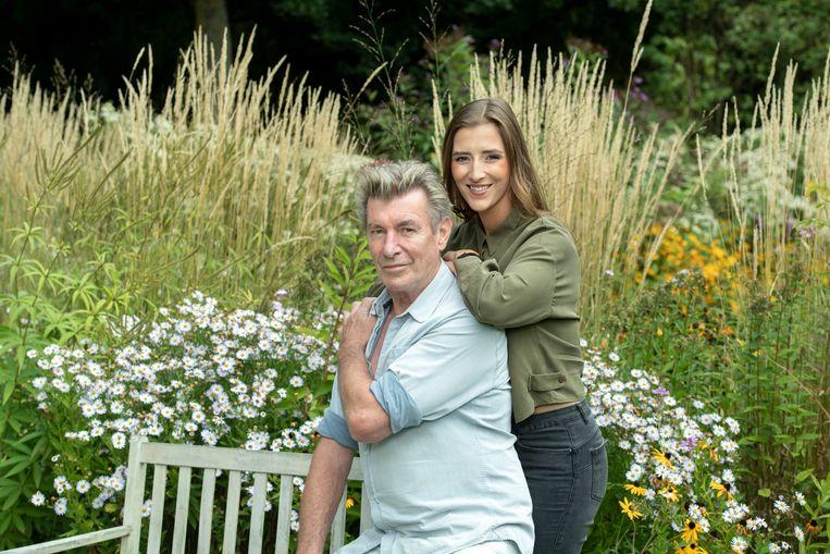 Paul Michiels en zijn dochter Maxine.