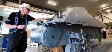 Stichting de Vierschaar presenteert replica Canadese tank: 'zo echt dat ie onder de wapenwet valt'