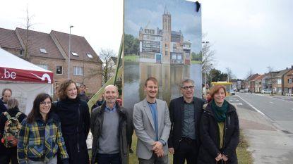 Kunstenaar onthult 'verbouwd' kasteel Wissekerke langs Bazelstraat
