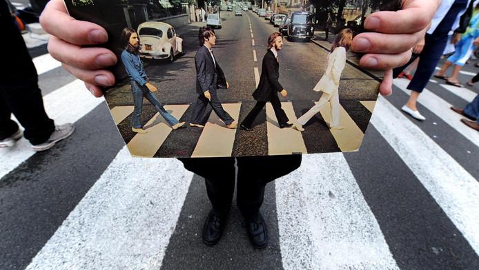 Misschien wel het beroemdste zebrapad ooit op de cover van het Abbey Road album van The Beatles.