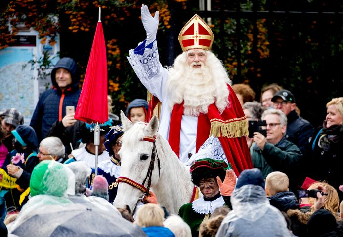 Intocht van Sinterklaas.