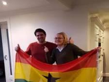 Udense scholiere wordt tijdelijk verslaggever in Ghana