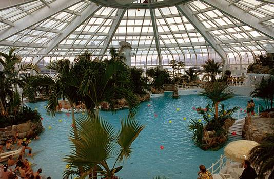 Het zwemparadijs in betere tijden
